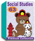 Social Studies Worksheets for Kindergarten (50 Worksheets)
