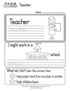Social Studies Worksheets for Kindergarten (50 Worksheets ...