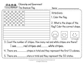 Social Studies Worksheets for Kindergarten (63 Worksheets ...