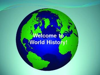 Social Studies World History Open House PowerPoint Presentation - Editable