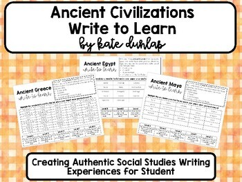 Social Studies Write to Learn