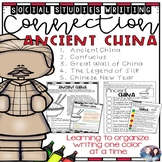 Social Studies-Writing Connection China - CKLA and Core Knowledge