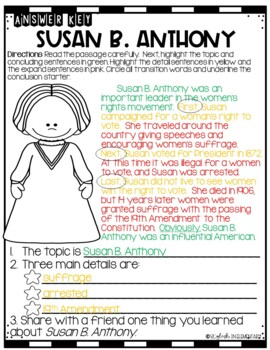 Social Studies-Writing Connection Civil Rights