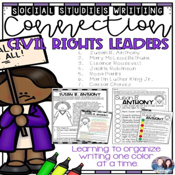 Social Studies-Writing Connection Civil Rights-(CKLA and Core Knowledge)