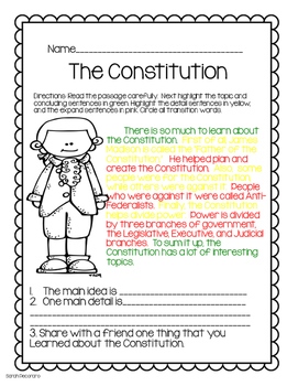 Social Studies-Writing Connection Early American History- CKLA & Core Knowledge