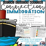 Social Studies-Writing Connection Immigration-(CKLA and Core Knowledge)