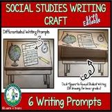 Social Studies Writing Craft - EDITABLE