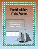 Social Studies Writing Prompts