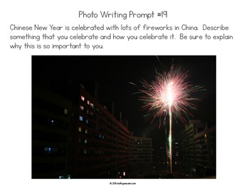 Social Studies Writing Prompts: Quick & Fun Prompts About 5 Photos