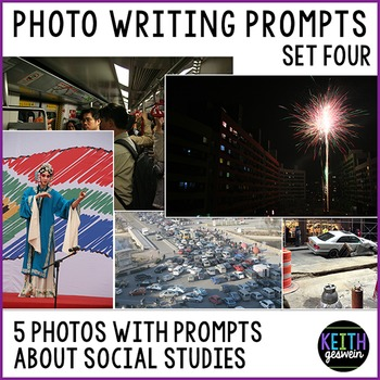 Social Studies Writing Prompts: Quick & Fun Prompts About