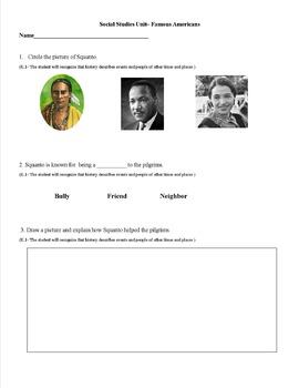 Social Studies Year Long Assessment Pack