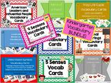 Mrs. Clarkson's-Vocabulary Cards {mini BUNDLE}