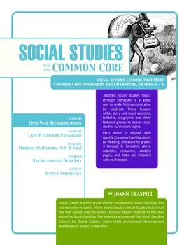 Social Studies and the Common Core: Lesson 1: Civil War Reconstruction