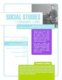 Social Studies and the Common Core: Lesson 2: Late Westward Expansion