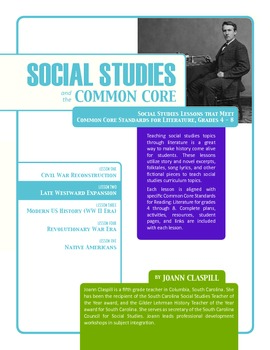 Social Studies and the Common Core: Lesson 2: Late Westwar
