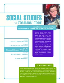 Social Studies and the Common Core: Lesson 3: Modern U.S. History (WWII)