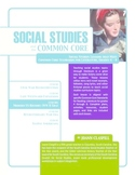 Social Studies and the Common Core: Lesson 3: Modern U.S.