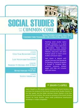 Social Studies and the Common Core: Lesson 4: Revolutionar