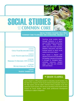 Social Studies and the Common Core: Lesson 5: Native Americans in U.S. History