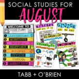 Social Studies for August