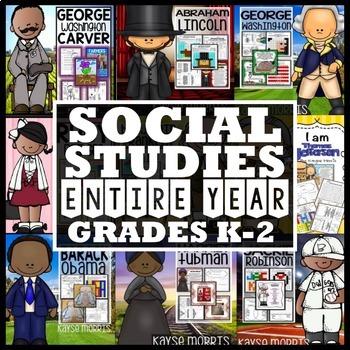 Social Studies Year Long Bundle