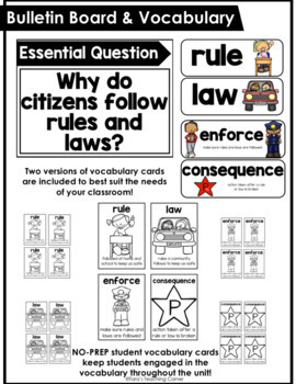 Social Studies for Little Learners: Rules and Laws