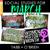 Social Studies for March