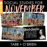 Social Studies for November