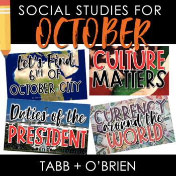 Social Studies for October