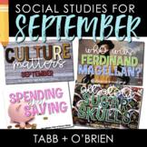 Social Studies for September