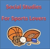 Social Studies Activites for Sports Lovers