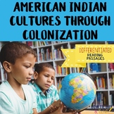 Social Studies Differentiated Passages Native Americans to Colonization