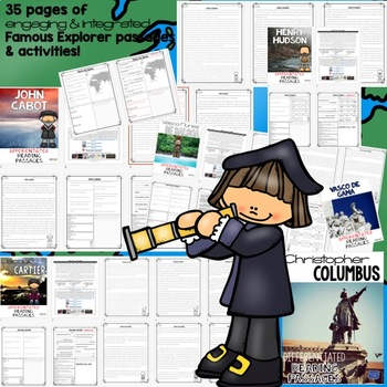 Social Studies Passages & Questions (Native American Indians to Colonies)