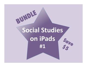 Social Studies on iPads Bundle #1 (Common Core Aligned!)