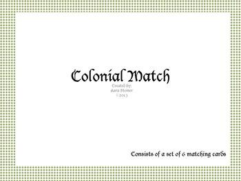 Social Studies:Colonial Vocabulary