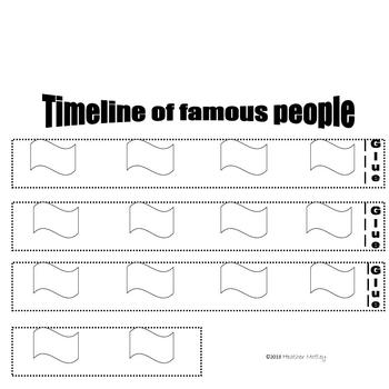 social studies timeline sol historic famous americans tpt. Black Bedroom Furniture Sets. Home Design Ideas