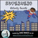 Social Superhero Activity Bundle