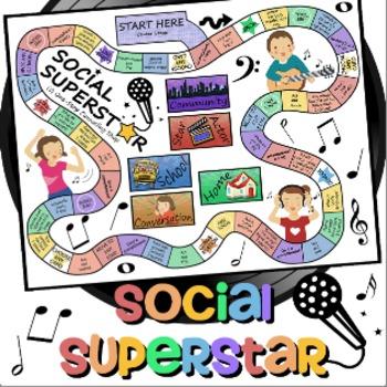 Social Superstar Communication Game