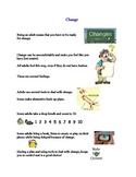 Social Tale - Change - High School - Vocational - Autism
