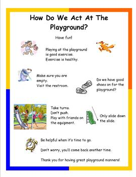 Social Tale - How Do We Act On The Playground