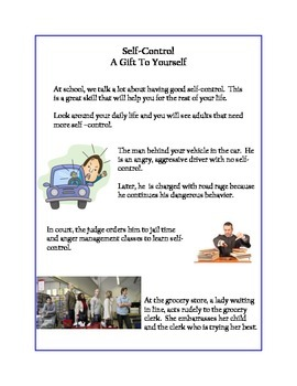 Social Tale - Self-Control A Gift To Yourself
