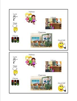 Social Tale - (Visual) Steps To Self-Control