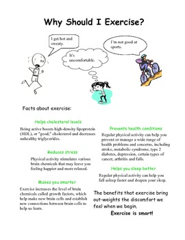 Social Tale - Why Should I Exercise?