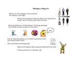 Social Tale - Workplace Etiquette - High School - Vocational - Special Ed
