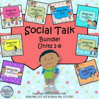 Social Talk Bundle: Units 1-8