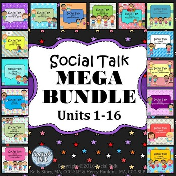 Social Talk Curriculum MEGA BUNDLE