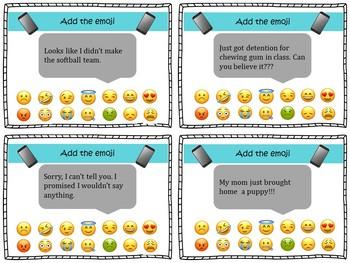 Social Talk, Emojis