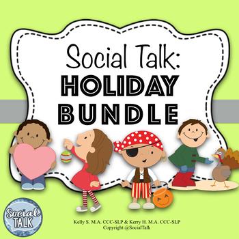 Social Talk, Holiday BUNDLE