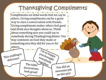 Social Talk, Thanksgiving Social Skills