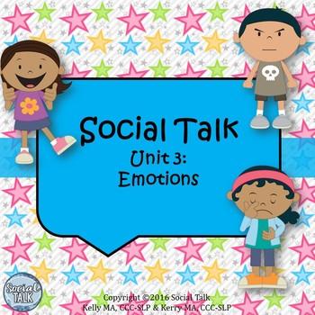 Social Talk, Unit 3: Emotions
